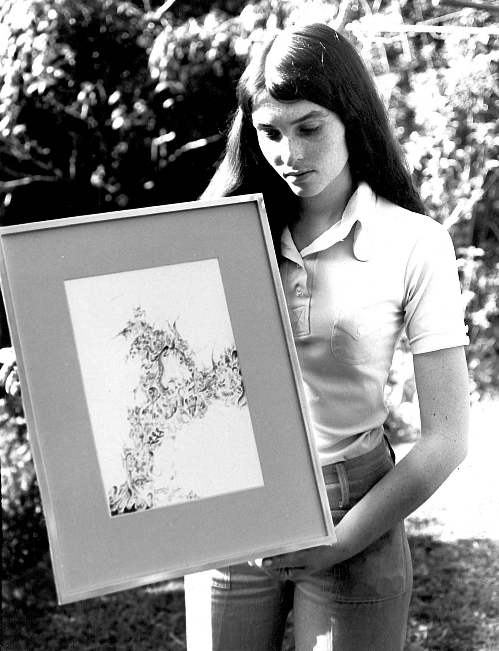 1973 Sharon Davson (art Student)