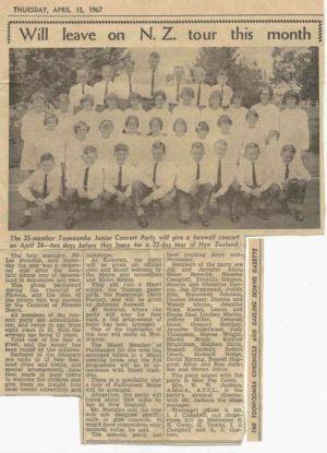 1967 - 4 Apr Nz Toowoomba Concert