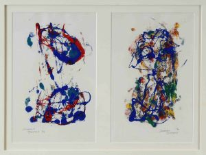 1973 Jo And Friend Mono Prints On Paper