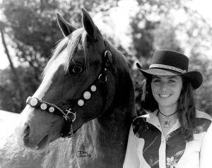 1981 Davson With Horse Sam