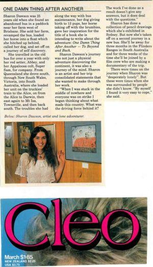 1983 - 3 March Cleo Magazine National Australia 1240x900
