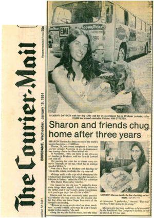 1984 - 1  Jan  18 - Brisbane The Courier Mail 1240x900
