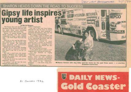 1984 - 1  Jan  21 - Daily News Gold Coaster 1240x900