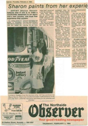 1984 - 2  Feb  2 - The Northside Observer 1240x900