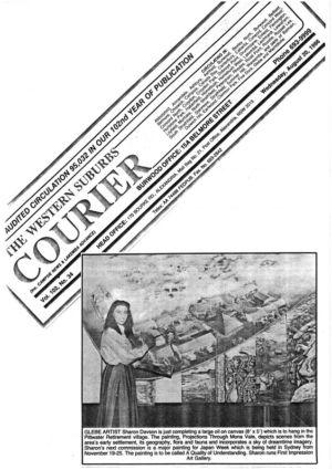 1986 - 8 Aug 20 - The Western Suburbs Courier   1240x900
