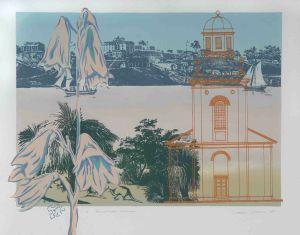 1989 Hawkesbury Harmony Silk Screen On Rag Paper