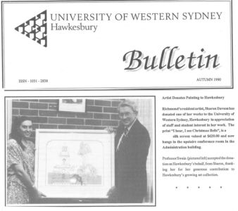 1990 - Autumn - University Of Western Sydney 1240x900