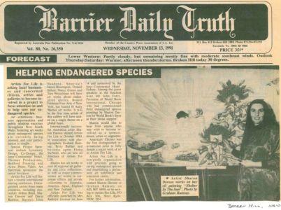 1991 - 11 Nov 13 - Barrier Daily Truth 1240x900