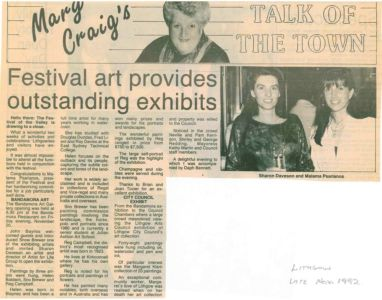 1992 - Lithgow - Mary Craigs Talk Of The Town 1240x900