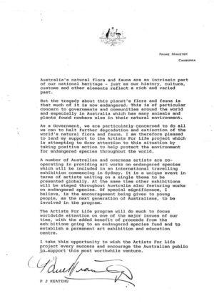 1992 - Prime Minister - Paul Keating 1240x900