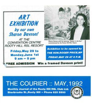 1992 5may 29 - Sharon Davson Art Exhibition 1240x900