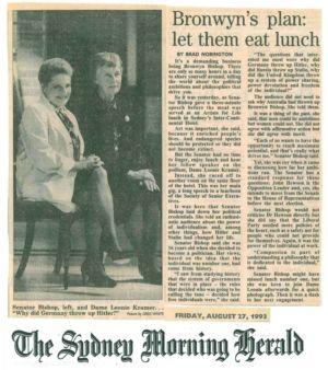 1993 - 8 Aug 27 - The Sydney Morning Herald 1240x900