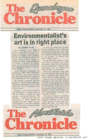 1995 - 11 Nov 13 - The Queanbeyan Chronicle 1240x900