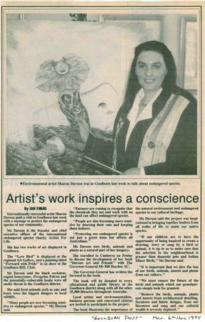 1995 - 11 Nov 6 - Goulburn Post 1240x900