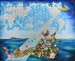 1997-1999 - On The Ark Of Salvation 4ft X 5ft NSW Australia 1240x900