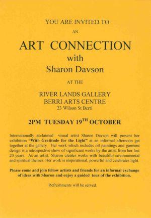 1999 - 10 Oct 19 - River Lands Gallery Berri Arts Centre 1240x900