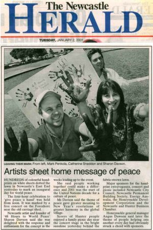 2001 - 1 Jan 2 - The Newcastle Herald 1240x900