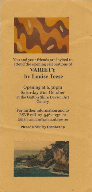 2006 - 10 Oct 21 Louise Teese Variety