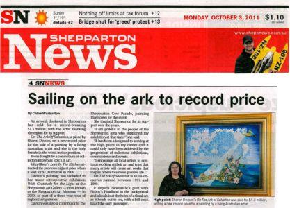 2011 - 10 October 3 - Shepparton News - Vic 1240x900