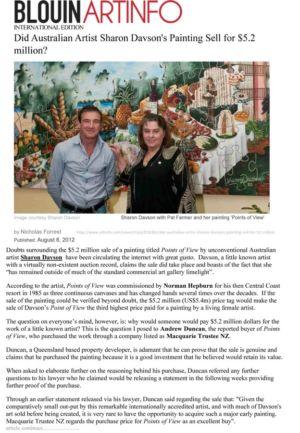 2012 - August 8 - Blouin Artinfo - International Edition 1240x900