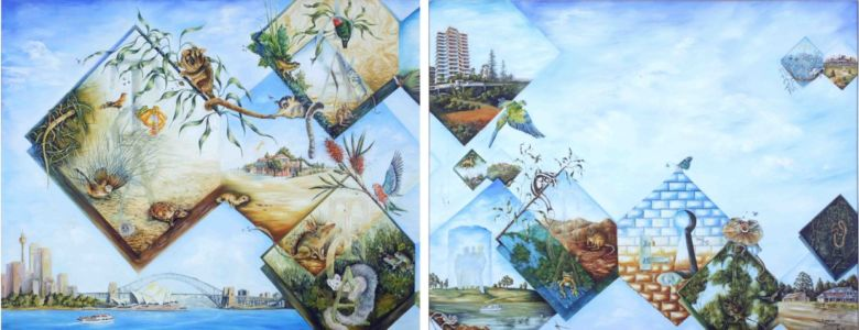 "<a href=""http://davsonarts.com/investment-in-art/investment-opportunities/""><b>Time To Grow - 2xFramed Panels</b></a>"