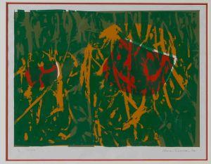 1974 Gone Silk Screen On Paper