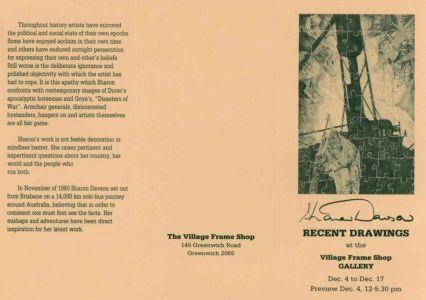 1982 - 12 December 4 The Village Frame Shop Gallery Greenwich Sydney Nsw 1240x900
