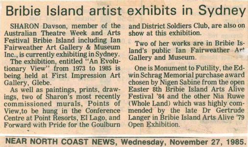 1985 - 11 Nov 27 - Bribie Island Near North Coast News 1240x900