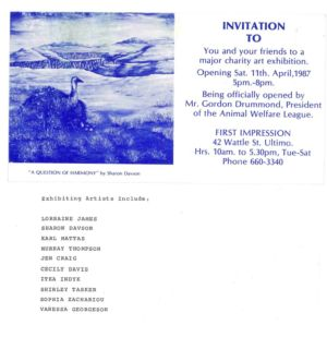 1987 - 4 Apr 11 - First Impressions Art Galleryc 1240x900