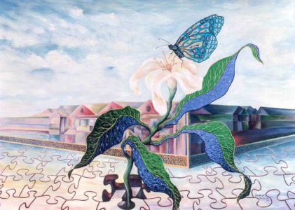 """<a href=""""https://davsonarts.com/investment-in-art/investment-opportunities/""""><b>1988 - 'Living Freedom'</b></a>"""