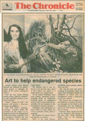 1991 - 4 Apr 25 - Toowoomba The Chronicle 1240x900