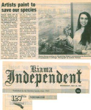 1991 - 5 May 22 - Kiama Independent 1240x900
