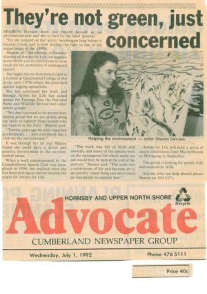 1992 - 7 July 1 - Hornsby Advocate 1240x900