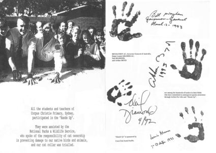 1993 - 10 Oct 7 - Artists For Life Hands Up Pages 1240x900