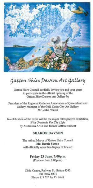 2000 - 6 Jun 23 - Gatton Shire Davson Art Gallery 1240x900