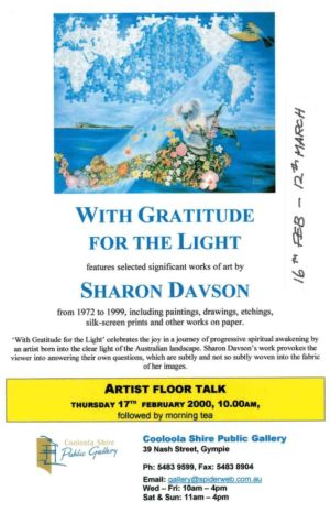 2000 - Sharon Davson - With Gratitude For The Light 1240x900