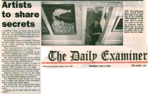 2001 - 5 May 3 - The Daily Examiner 1240x900