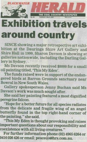2001 - 5 May 8 - Blackwater Herald 1240x900