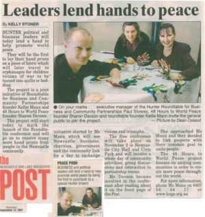 2001 - 9 Sep 12 - The Newcastle And Lake Macquarie Post 1240x900