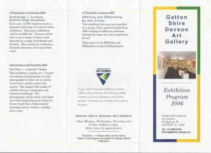2006 - 10 Oct 23 Program