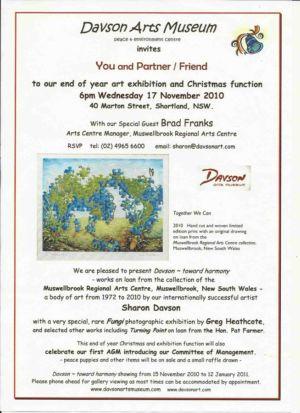 2010 11 Nov 17 DAM Invitation