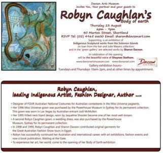 Robyn Caughlan's - Body of Earth