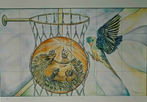 NSW Basketball Association 3 - Concept Drawing
